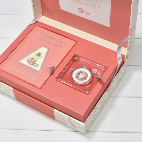 The Tailor of Gloucester coin Gift set