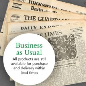 Original Newspapers Business As Usual