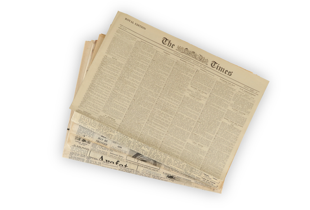 1909 Original Newspapers