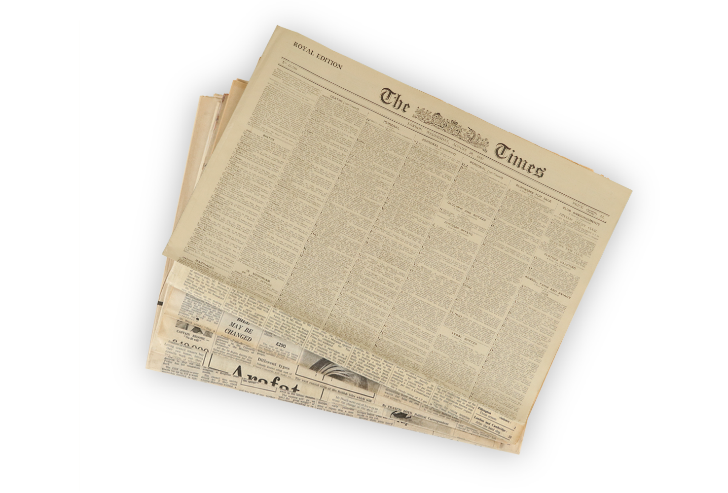 1930 Original Newspaper Gift