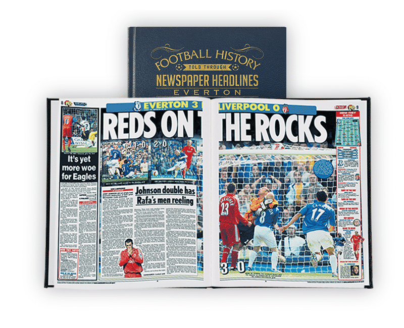 Personalised Everton Books