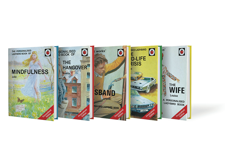 adult ladybird books