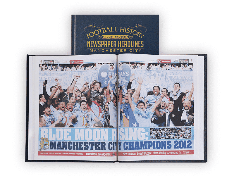 Personalised Manchester City Books