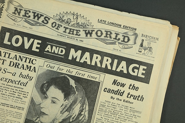 news of the world original newspaper archive