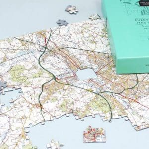 Personalised Map Puzzles
