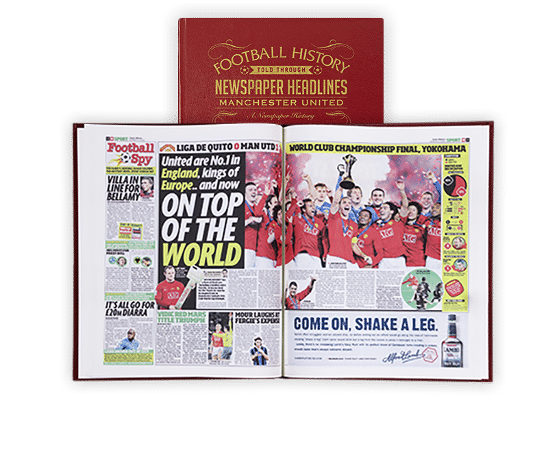 Personalised Manchester United Books