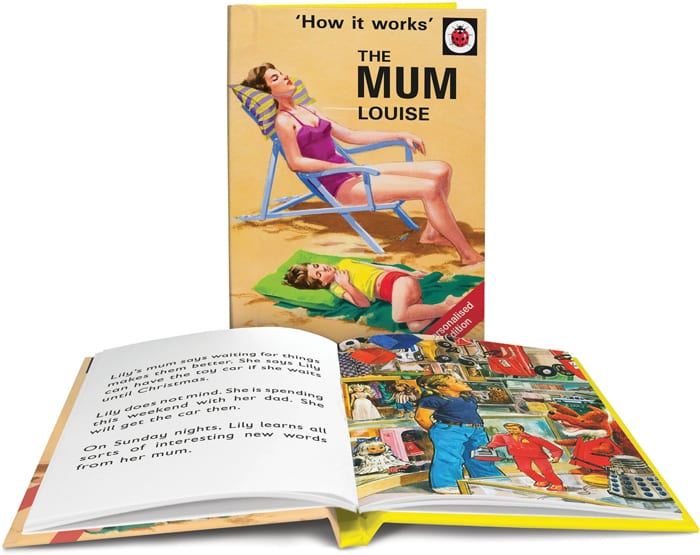 Personalised Mother's Day Books
