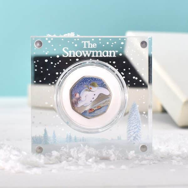 snowman coin royal mint