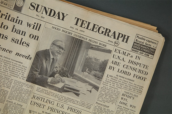 Sunday Telegraph Archive