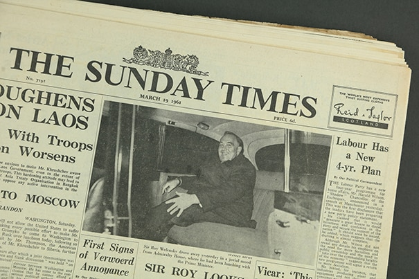 Sunday Times Newspaper Archive