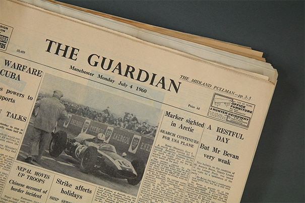 The Guardian Original Newspaper Archive