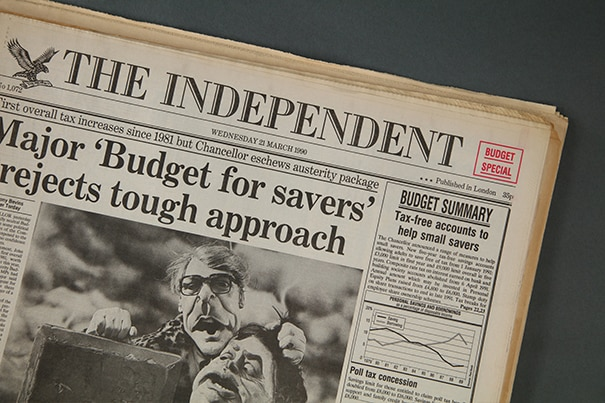 the independent original newspaper archive