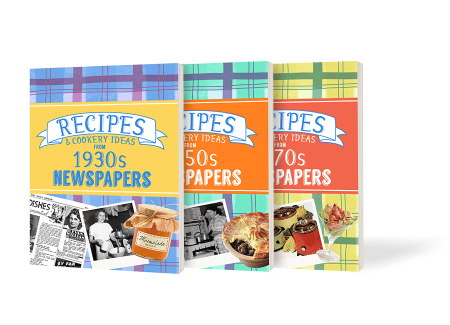 Vintage Recipe Cookbooks