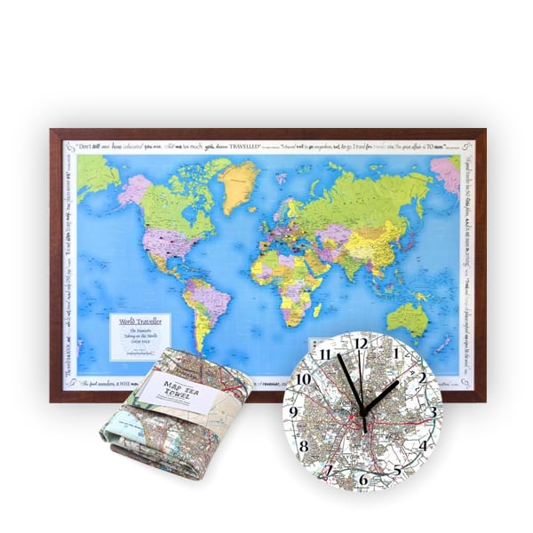 Personalised Map Gifts
