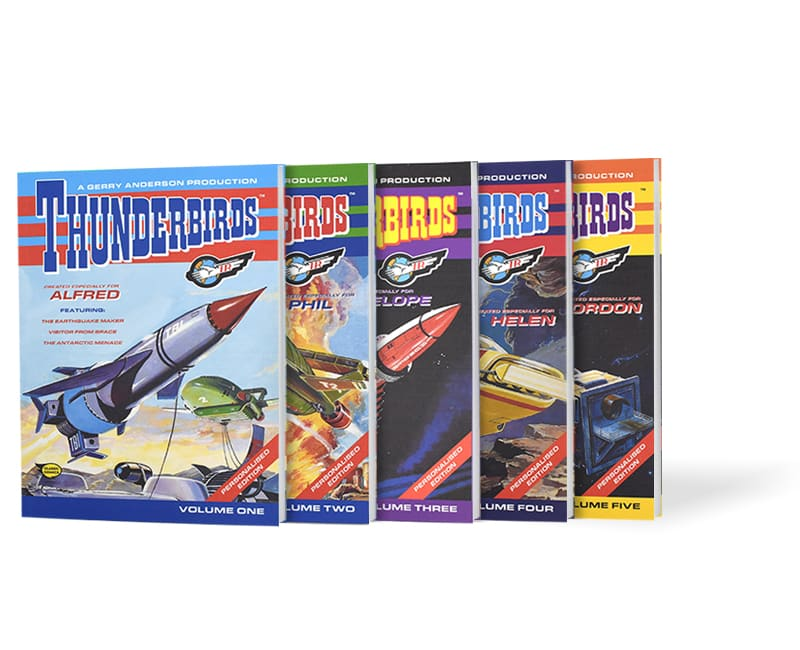 thunder birds collection