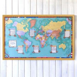 bucket list map