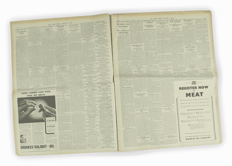 Financial Times Newspaper Archive