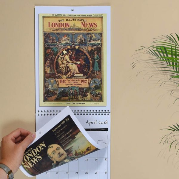 illustrated new calendar