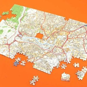 Ordnance Survey Jigsaw Map Puzzle