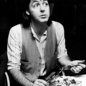 paul mccartney fish and chips