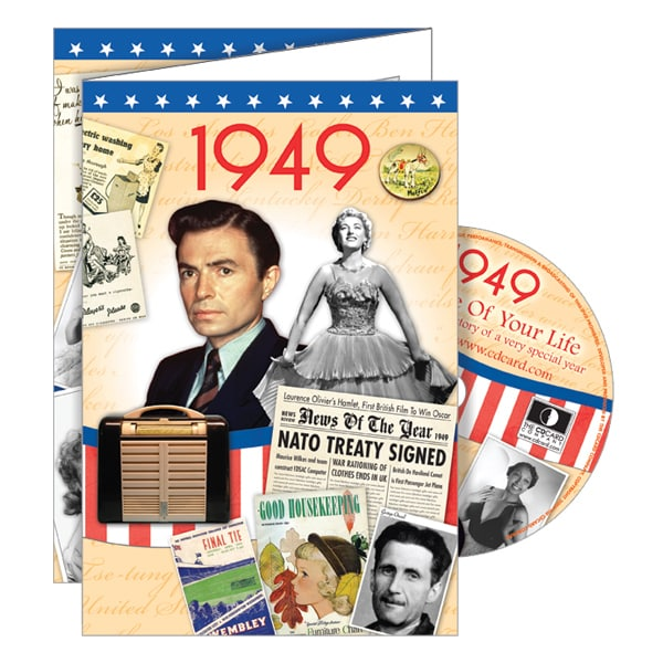 1949 Retro DVD Birthday Card