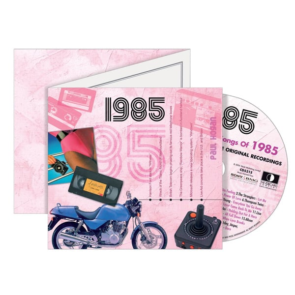 Personalised Retro CD Card