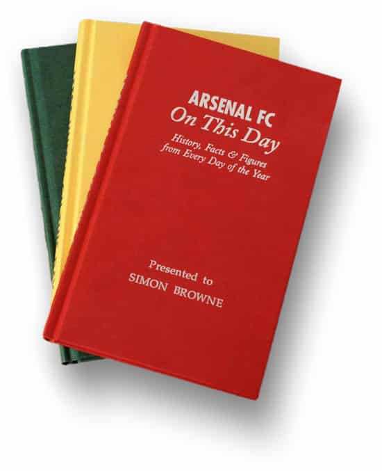 Personalised Football Fact Books