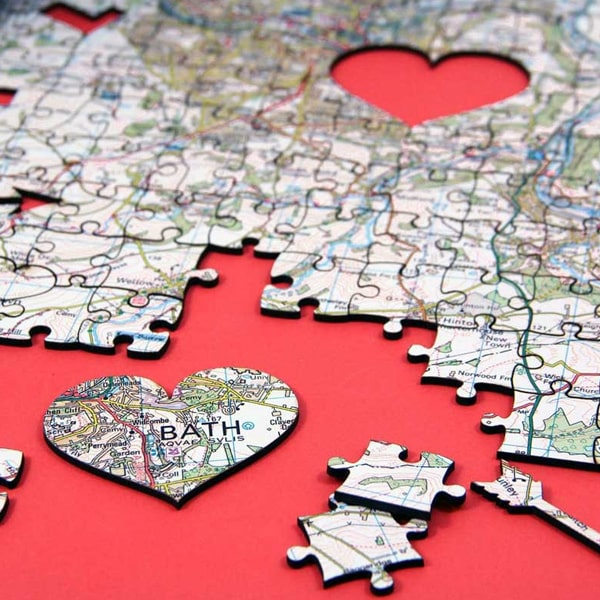 I Love You Wooden Jigsaw Puzzle