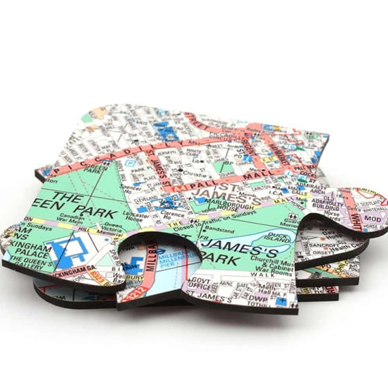 Personalised Jigsaw Map Coasters