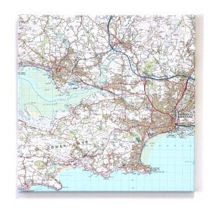 Map Canvas Wall Art