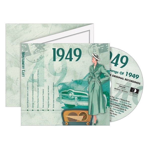 1949 Retro CD Birthday Card