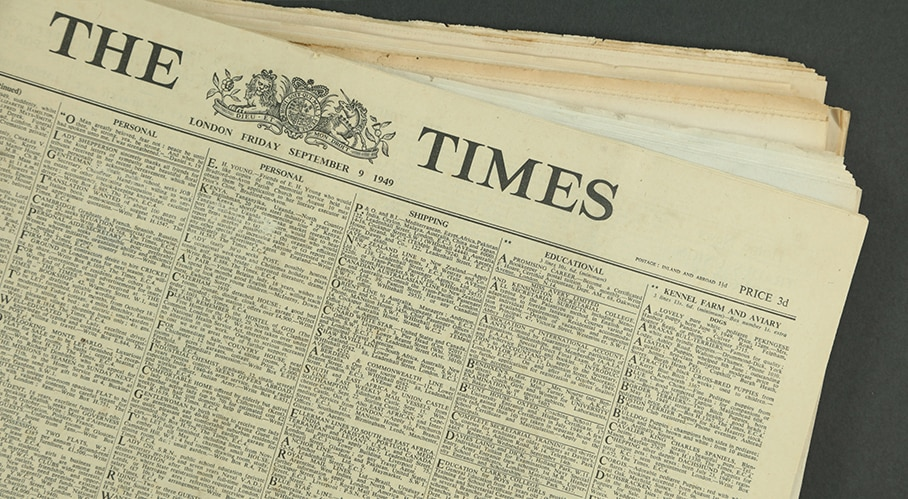 The Times Original Newspapers