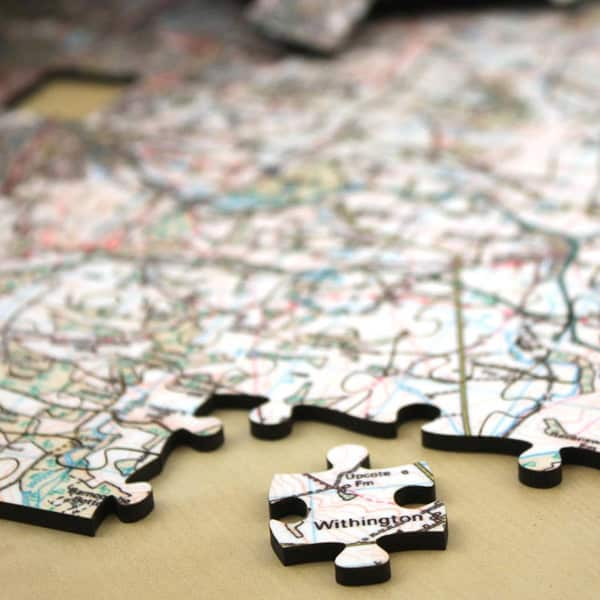 Wooden Map Jigsaw Puzzles