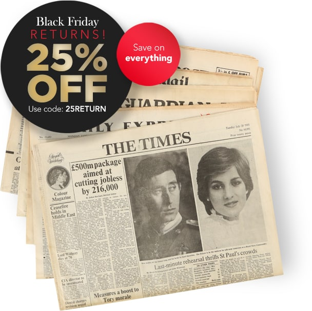 Personalised Newspaper Gifts