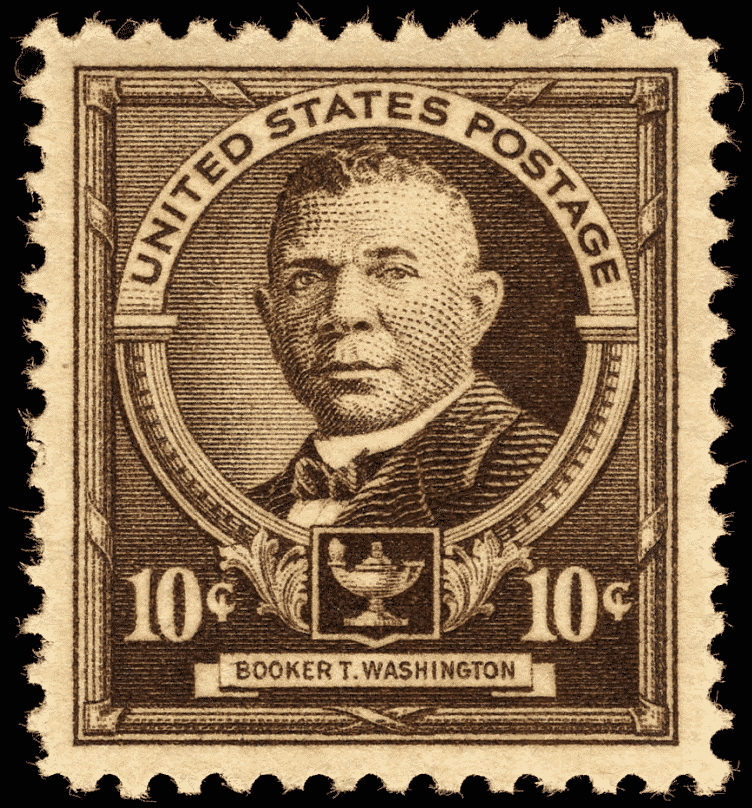 booker t washington postage stamp