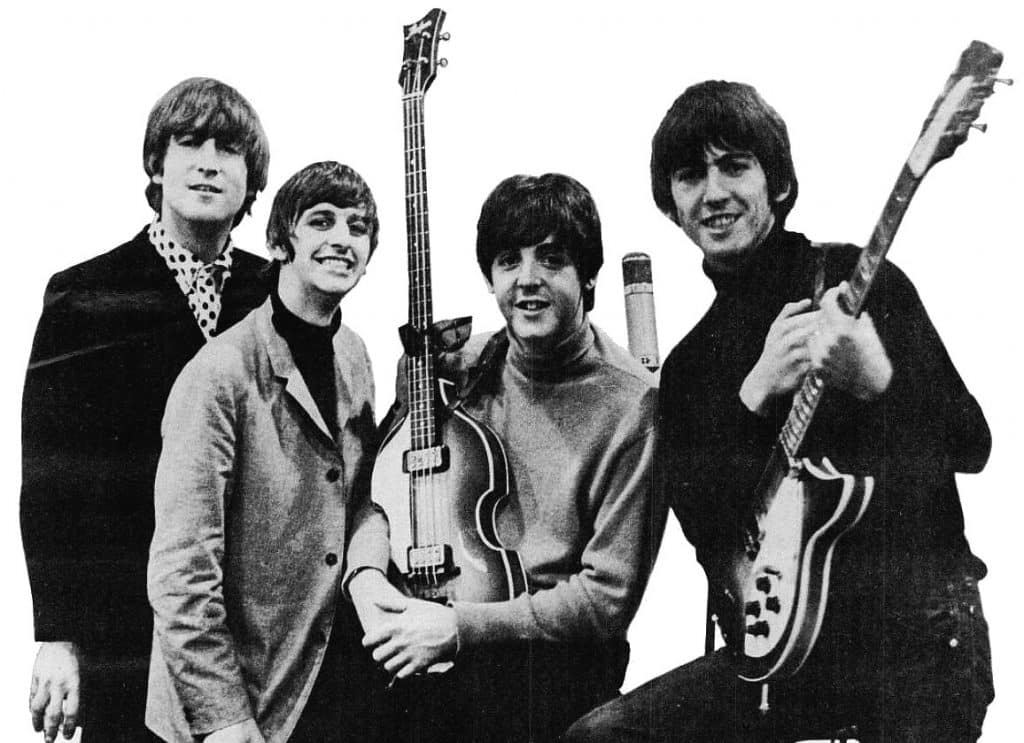 history of the beatles