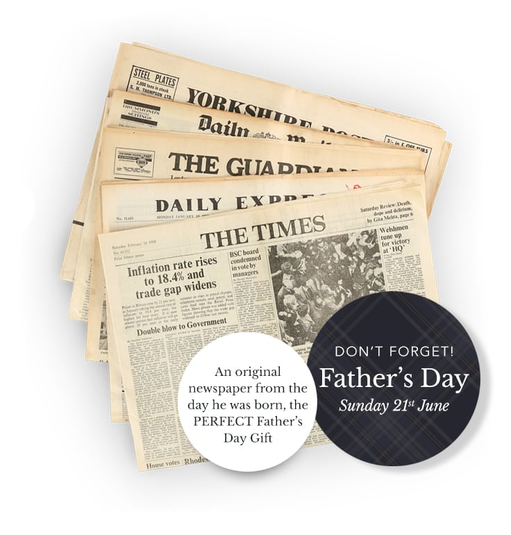 Personalised Father's Day Gifts