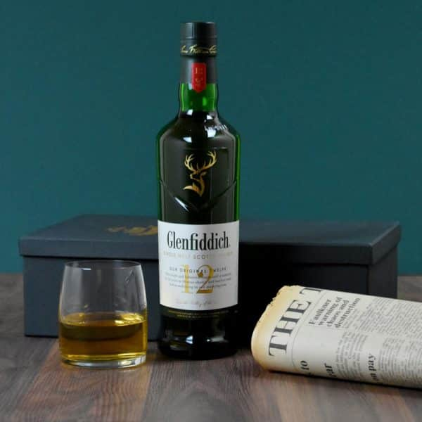 Glenfiddich malt whiskey