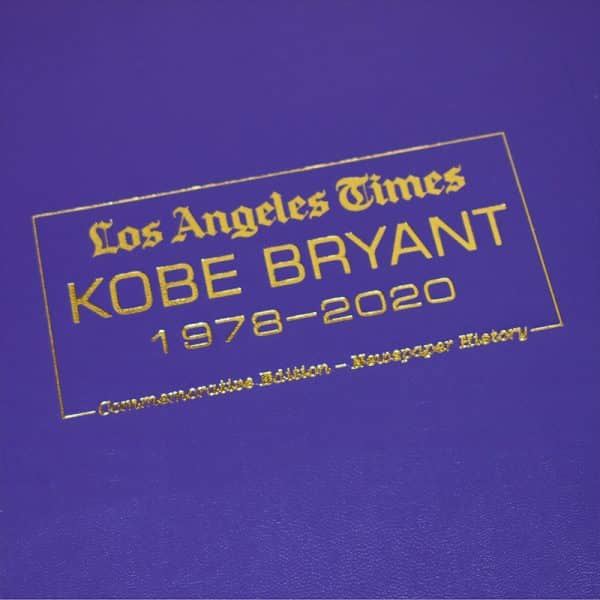LA Lakers & Kobe Bryant Commemorative Gift Set