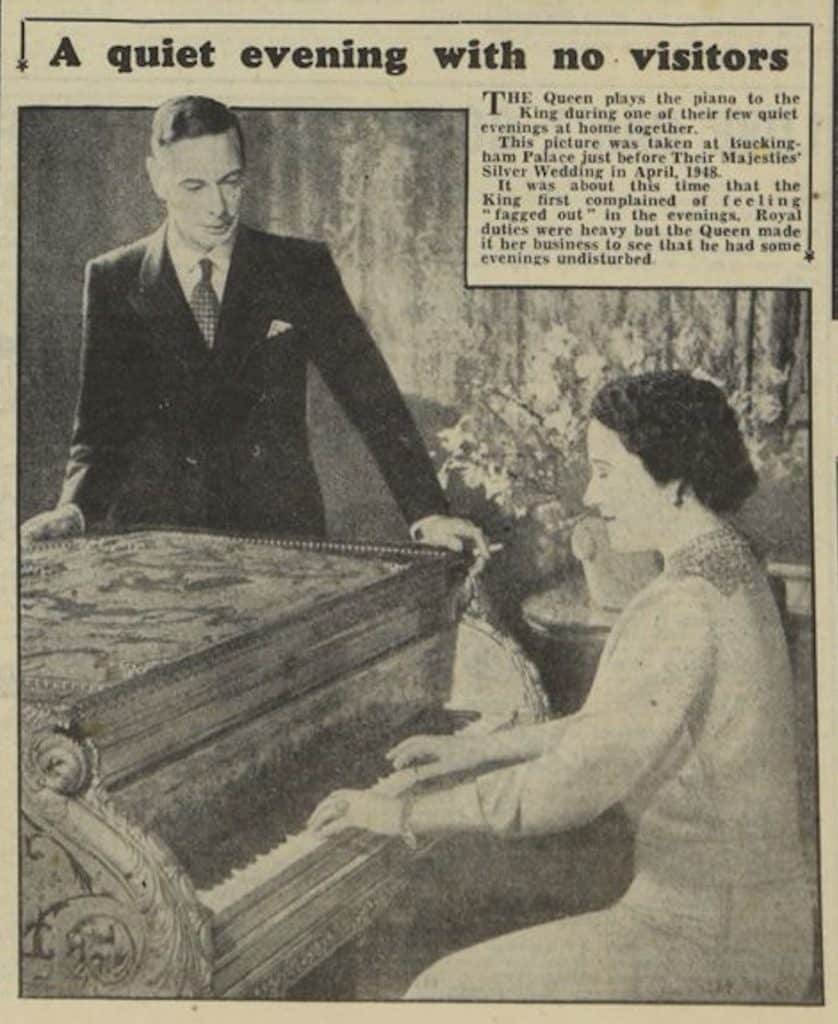 king george vi newspaper