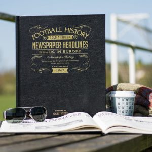 celtic in europe personalised book
